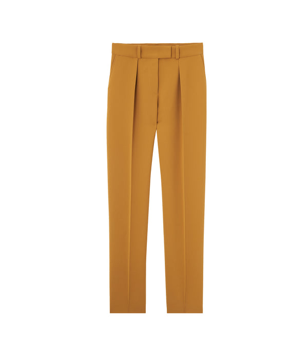 Sandra pants - DAD - Mustard yellow