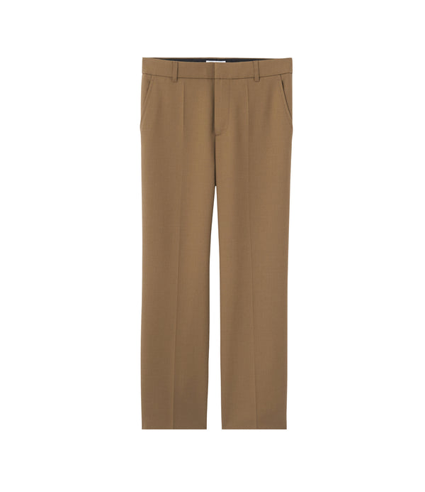 Eva pants - CAA - Chestnut brown