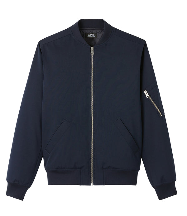 MA-1 bomber jacket - IAK - Dark navy blue