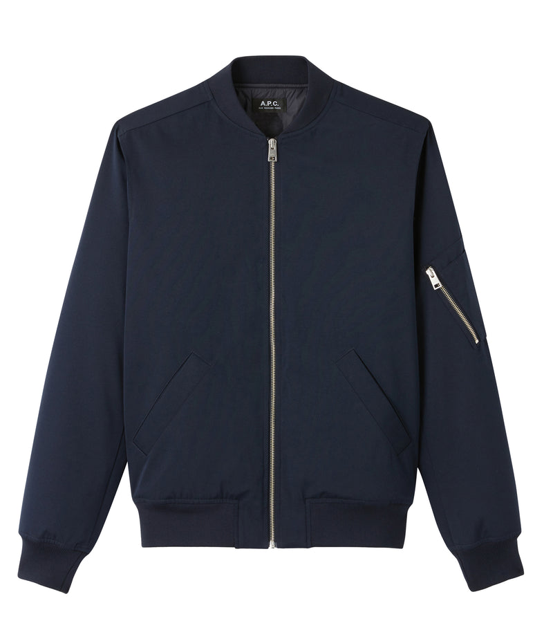 This is the MA-1 bomber jacket product item. Style IAK-1 is shown.