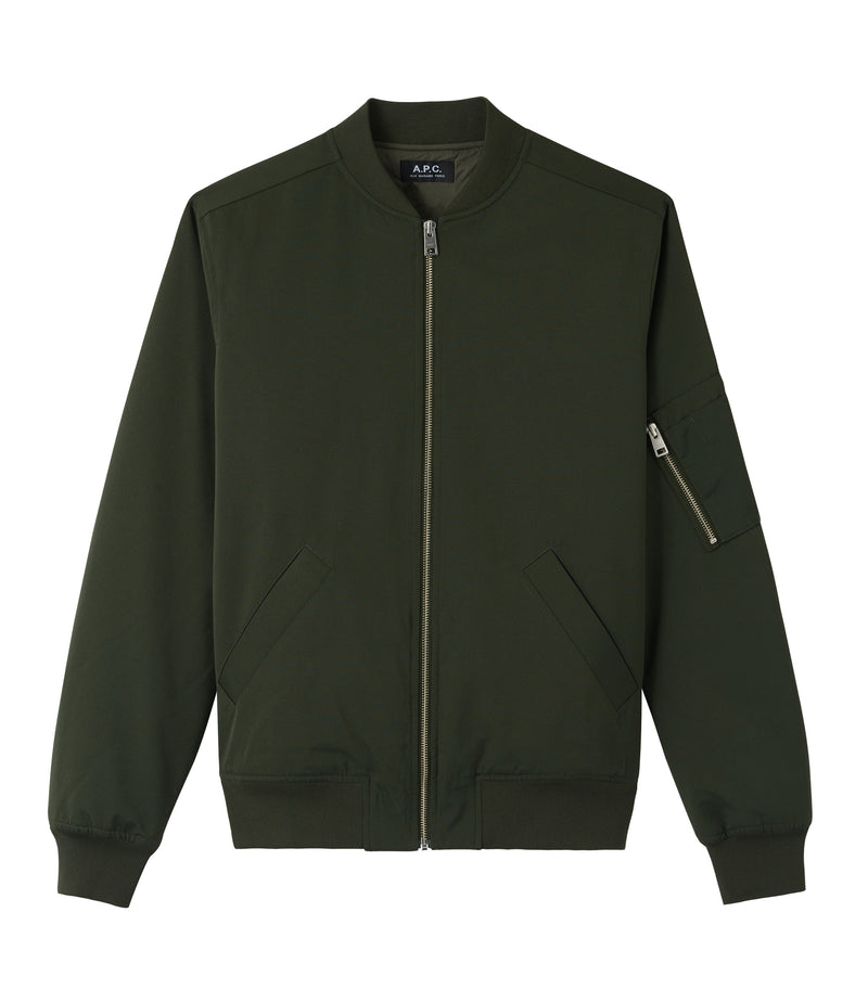 This is the MA-1 bomber jacket product item. Style JAC-1 is shown.