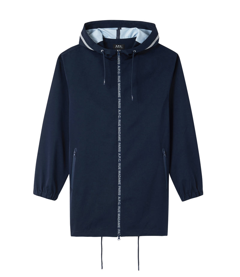 This is the Philip long windbreaker product item. Style IAK-1 is shown.