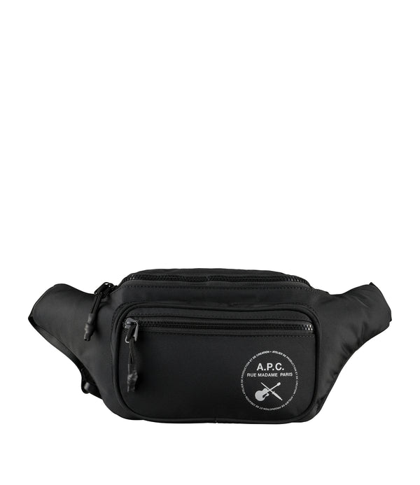 Guitare Poignard bum bag - LZZ - Black
