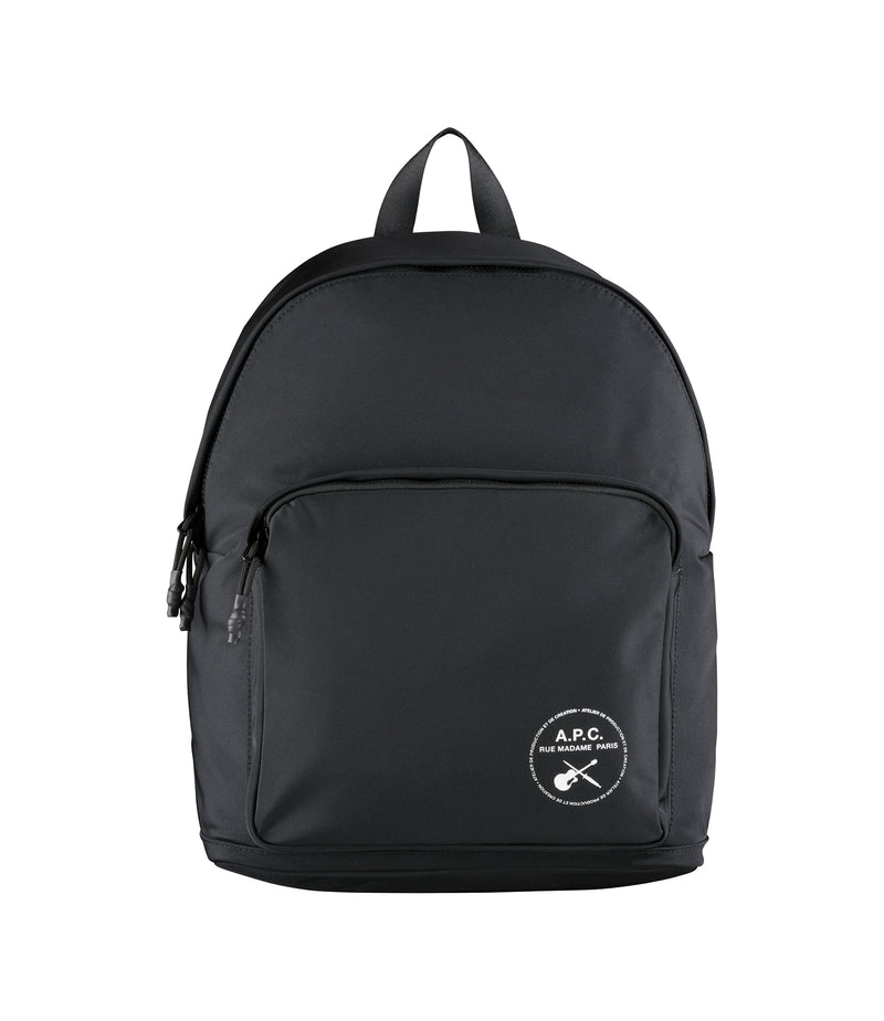 This is the Guitare Poignard backpack product item. Style LZZ-1 is shown.