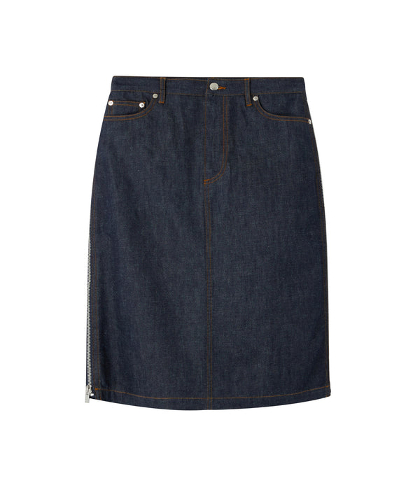 Mai skirt - IAK - Navy blue