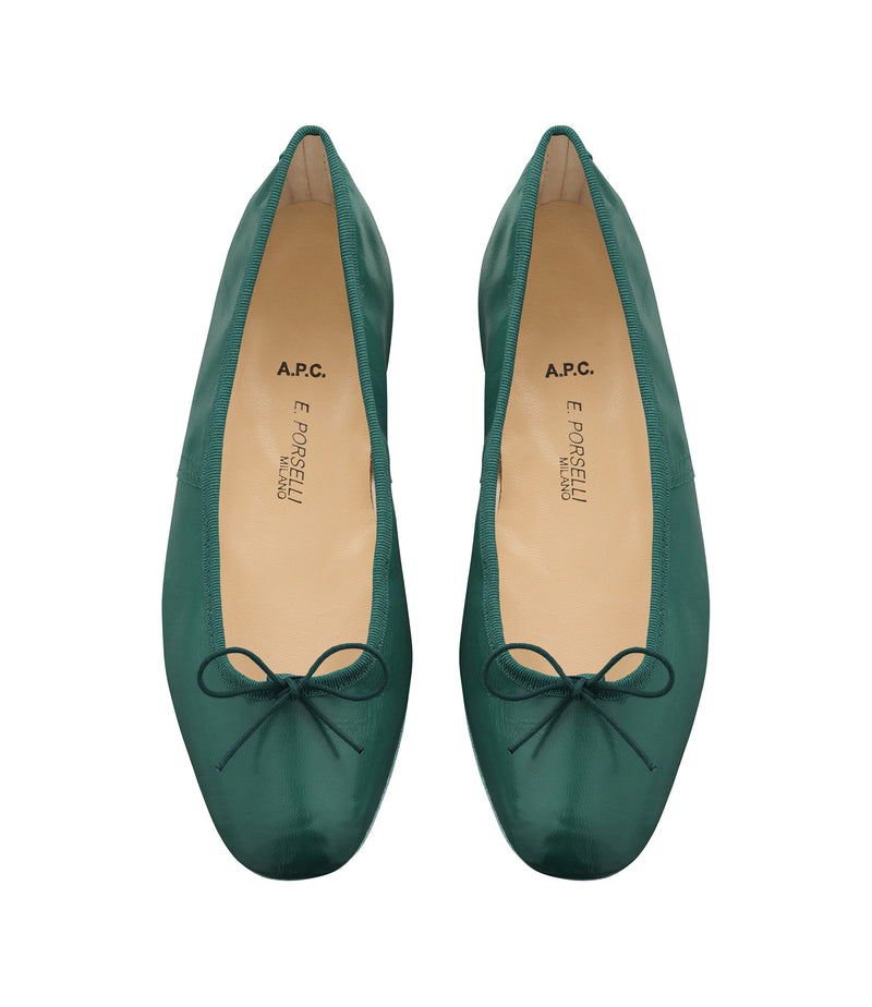 This is the Porselli ballet flats product item. Style KAG-2 is shown.