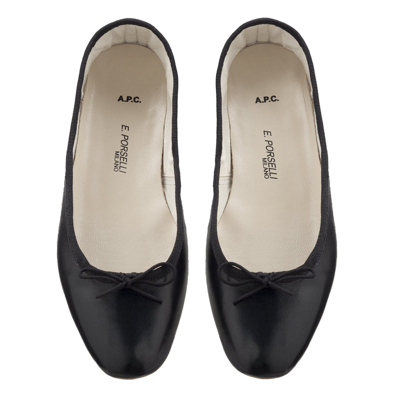 This is the Porselli ballet flats product item. Style LZZ-3 is shown.