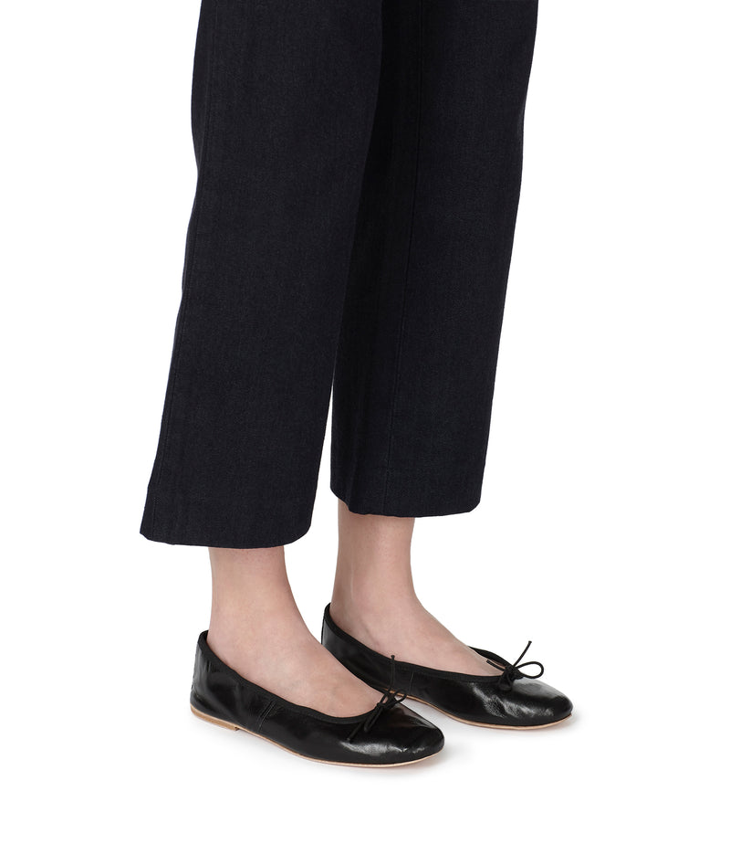 This is the Porselli ballet flats product item. Style LZZ-4 is shown.