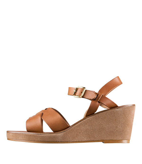 Judith sandals - CAD - Chestnut