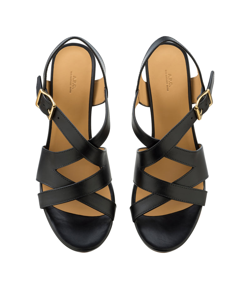 This is the Salma sandals product item. Style LZZ-3 is shown.