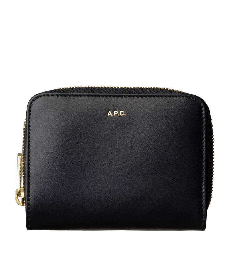 This is the Emmanuelle compact wallet product item. Style LZZ-1 is shown.