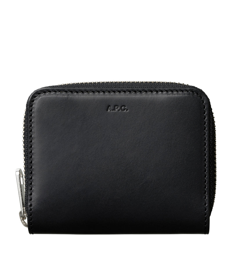 This is the Emmanuel compact wallet product item. Style LZZ-1 is shown.
