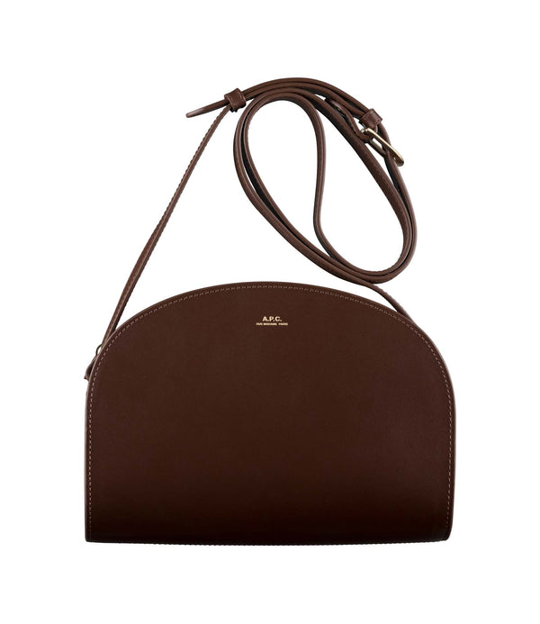 Demi-Lune bag - CAN - Light chestnut brown