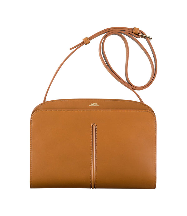 Aurélie bag - CAC - Frosted chestnut brown