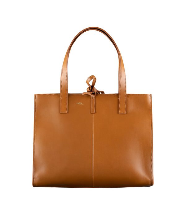 Small Emy bag - CAC - Frosted chestnut brown