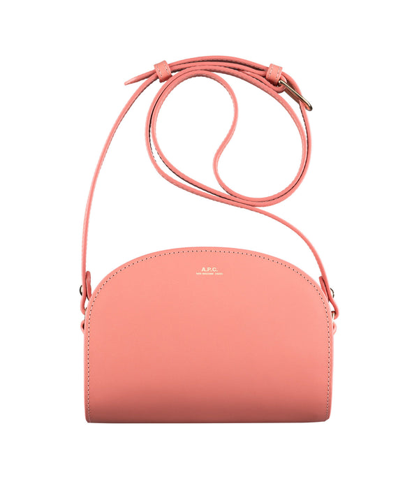 Mini demi-lune bag - FAC - Bright Pink