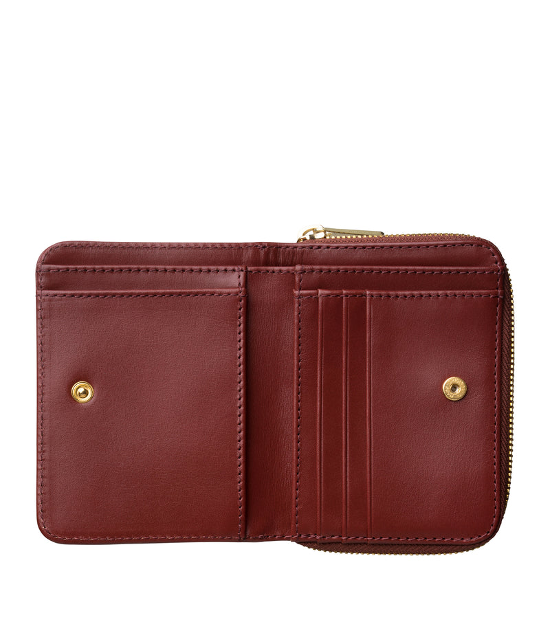 This is the Emmanuelle compact wallet product item. Style GAF-4 is shown.