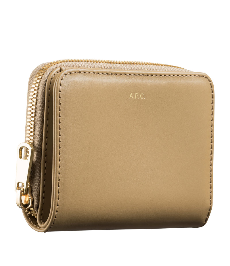 This is the Emmanuelle compact wallet product item. Style JAB-2 is shown.