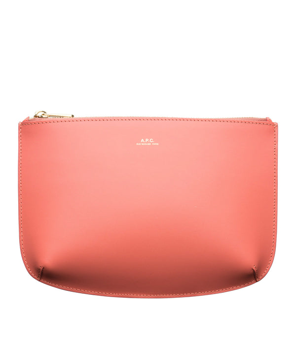 Sarah pouch - FAC - Bright Pink