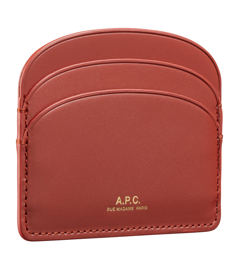 This is the Half-moon cardholder product item. Style EAI-3 is shown.
