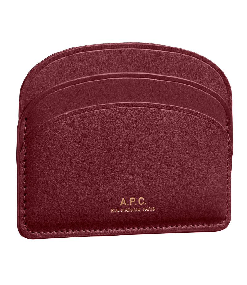 This is the Half-moon cardholder product item. Style GAC-3 is shown.
