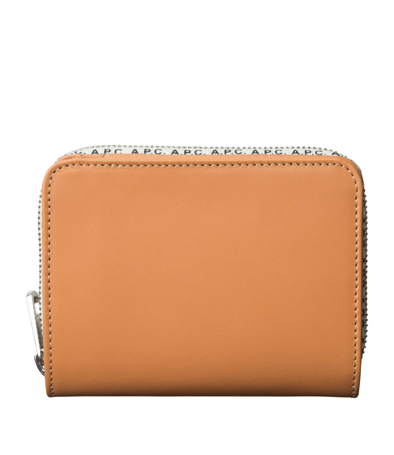 This is the Emmanuelle compact wallet product item. Style CAF-1 is shown.