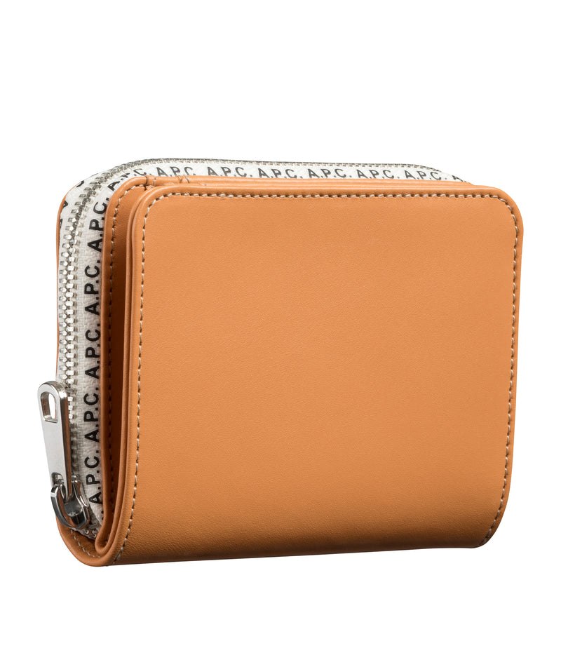 This is the Emmanuelle compact wallet product item. Style CAF-2 is shown.
