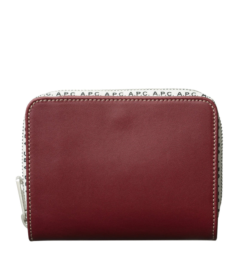 This is the Emmanuelle compact wallet product item. Style Emmanuelle compact wallet is shown.