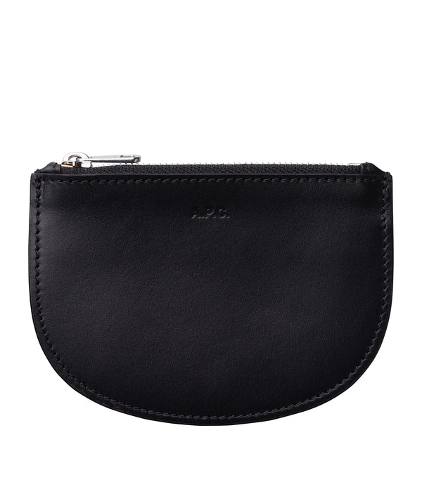 Demi-lune coin-purse - LZZ - Black