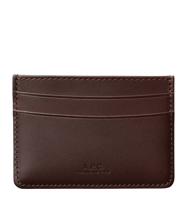 André cardholder - CAN - Light chestnut brown