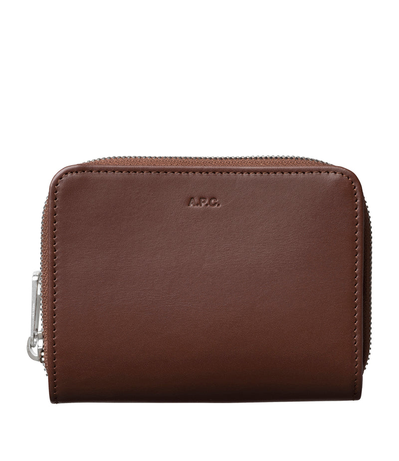 This is the Emmanuel compact wallet product item. Style CAA-1 is shown.