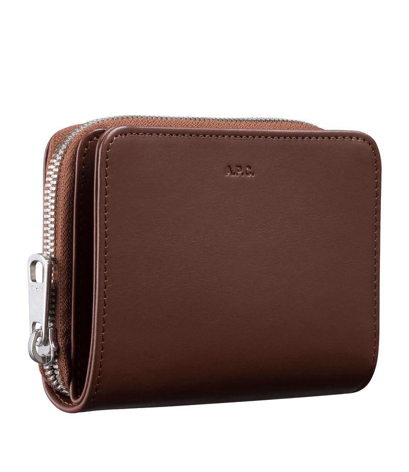 This is the Emmanuel compact wallet product item. Style CAA-5 is shown.
