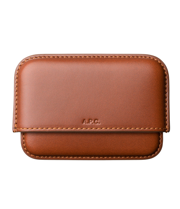 Magna Carta cardholder - CAD - Nut brown