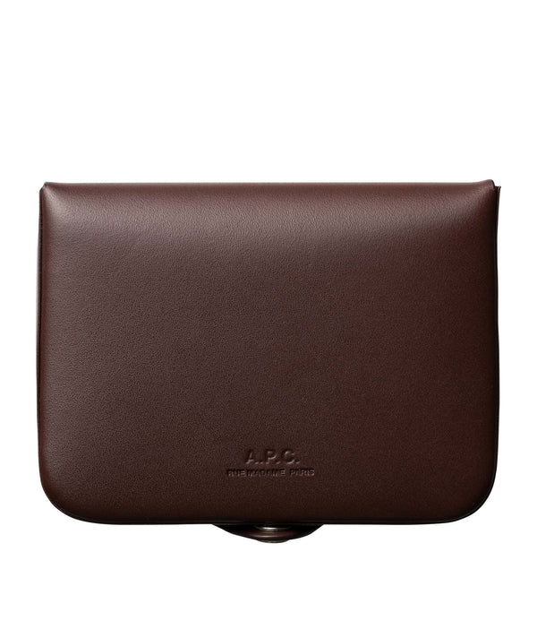 Josh coin purse - CAN - Light chestnut brown