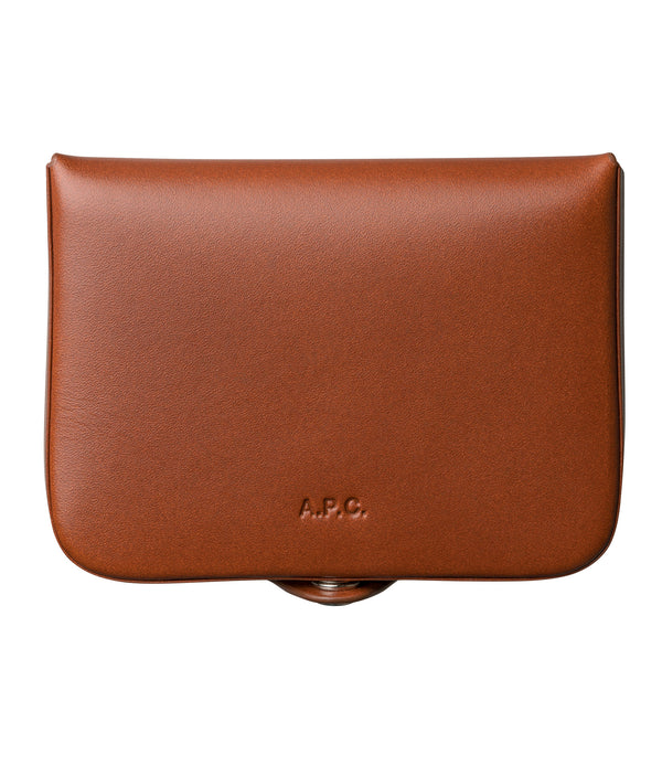 Josh coin-purse - CAD - Nut brown