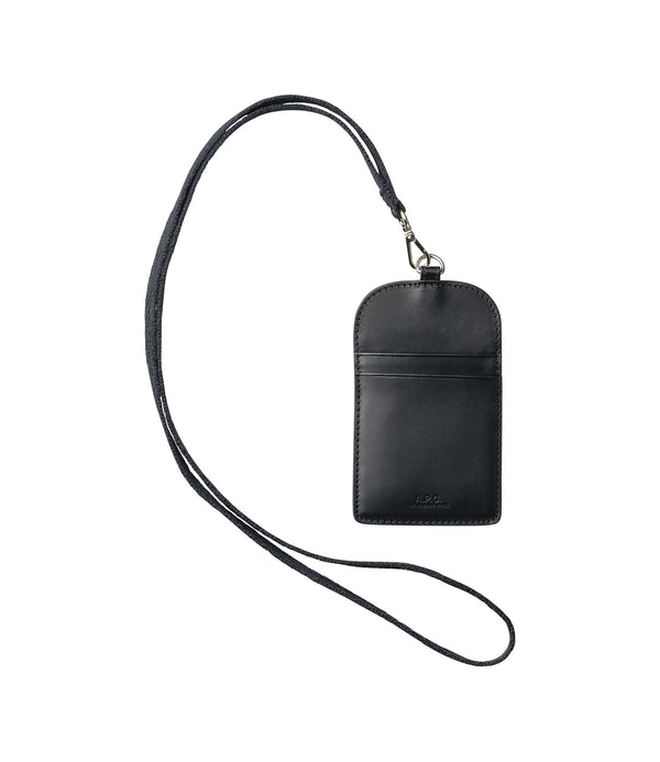 Badge holder - LZZ - Black
