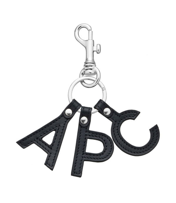 Lettres key ring - IAK - Dark navy blue