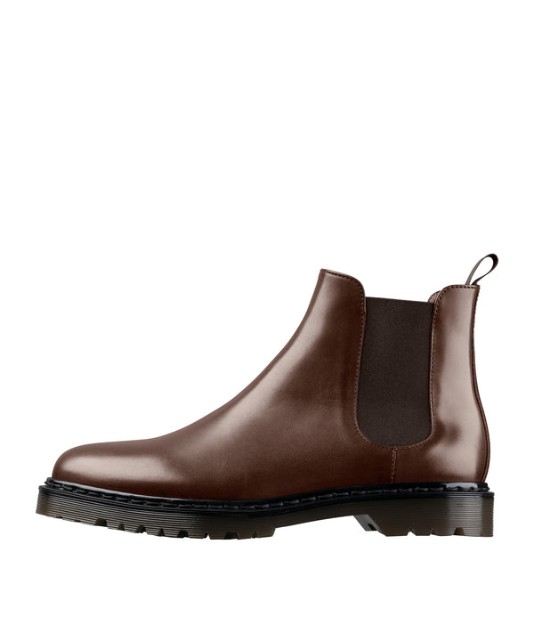 Marley ankle boots - CAA - Chestnut brown