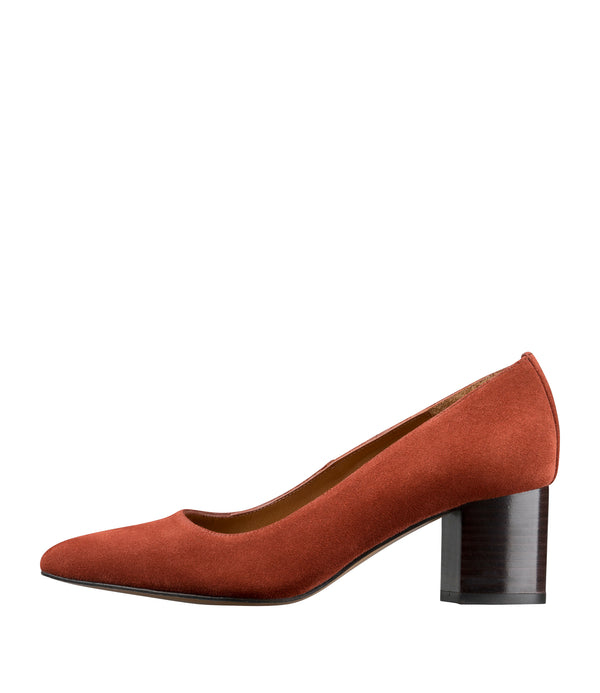 Sylva pumps - EAF - Brick red