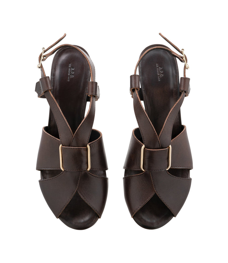 This is the Jessica sandals product item. Style CAE-3 is shown.