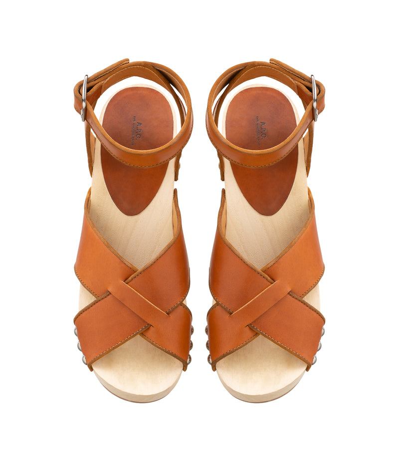 This is the Thelma sandals product item. Style CAF-3 is shown.
