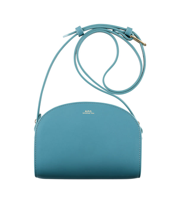 Mini demi-lune bag - IAA - Blue