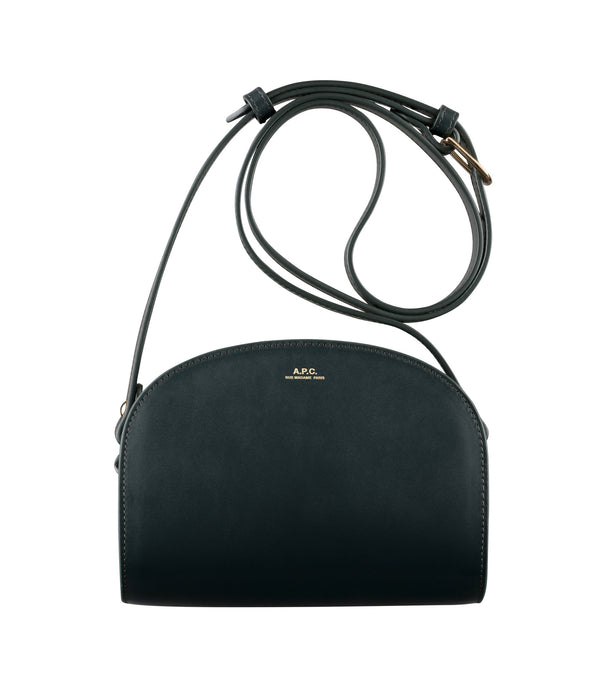 Demi-lune mini bag - KAI - Forest green