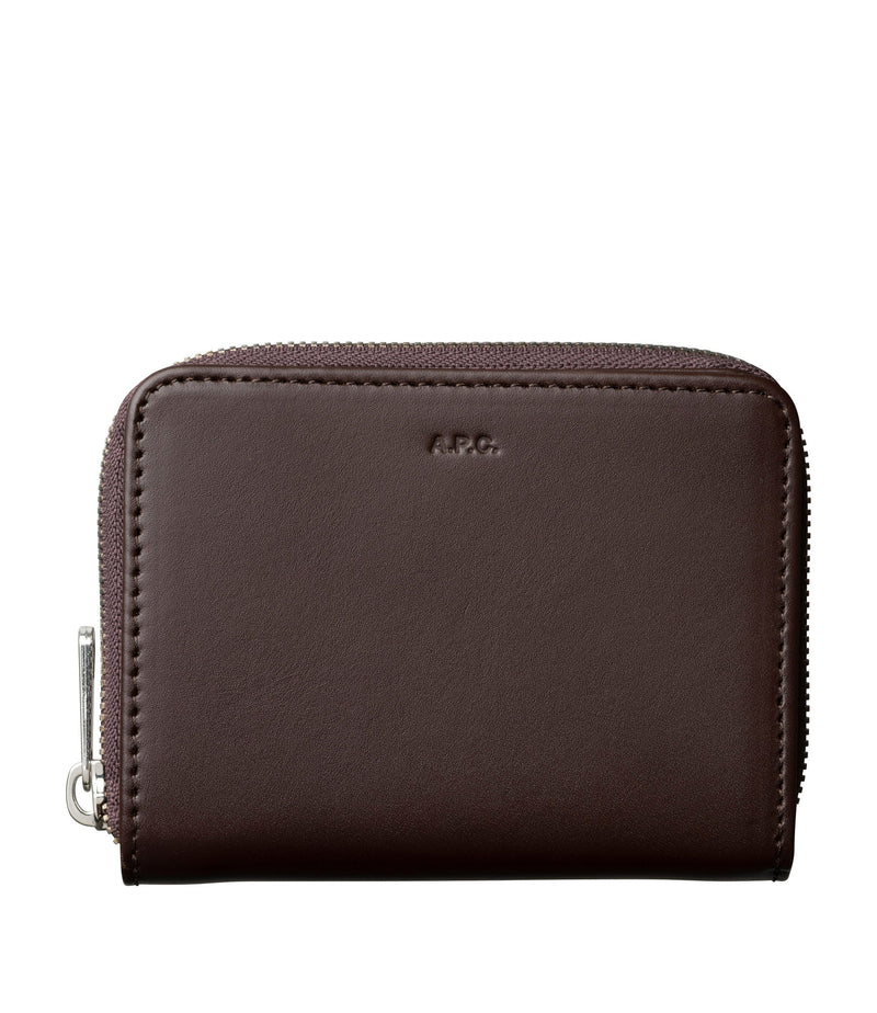 This is the Emmanuelle compact wallet product item. Style CAJ-1 is shown.