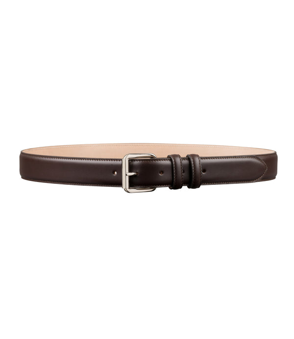 Paris belt - CAE - Dark chestnut brown