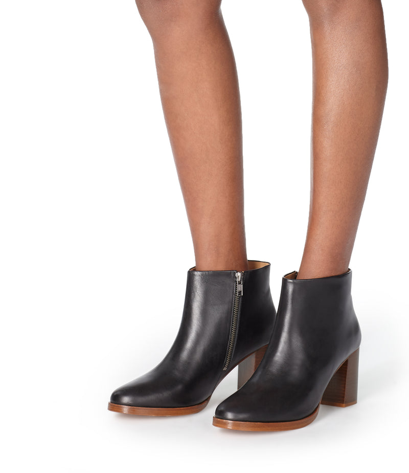 This is the Chic ankle boots product item. Style LZZ-4 is shown.