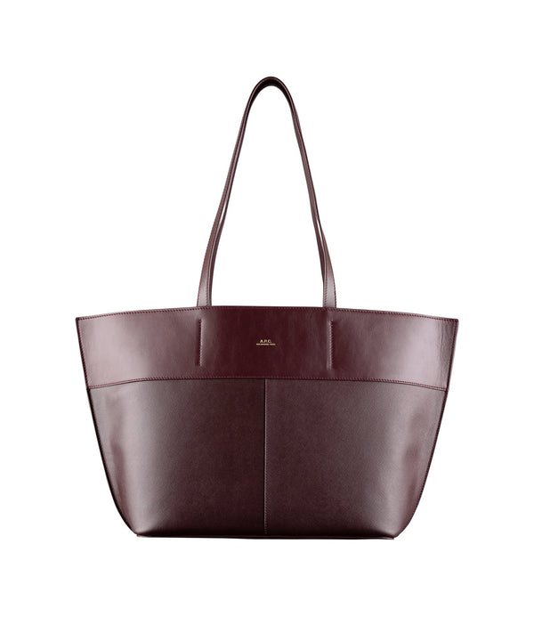 Small totally tote bag - GAC - Burgundy