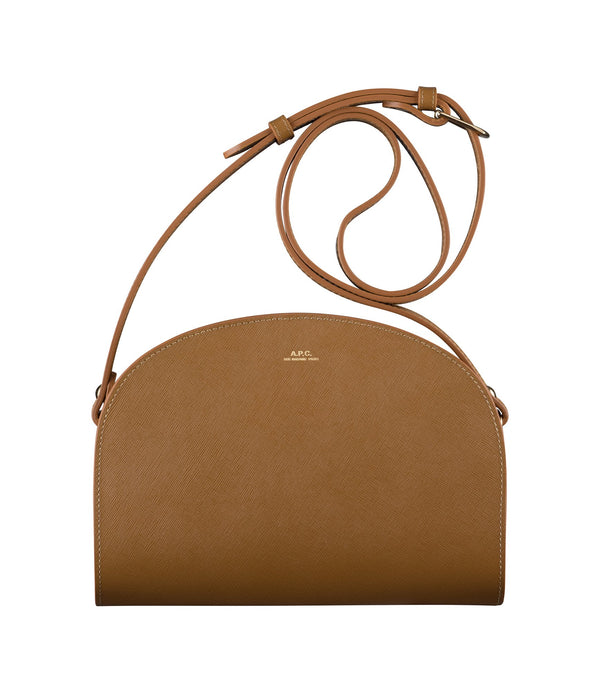 Half-moon bag - CAC - Brown