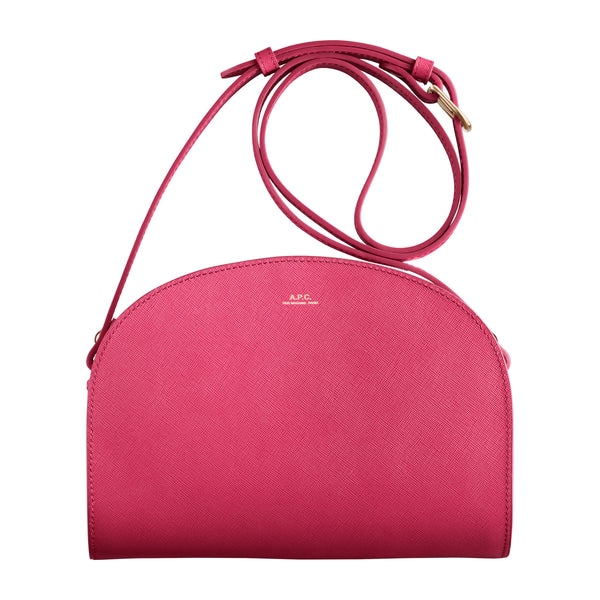 Demi-lune bag - GAK - Raspberry