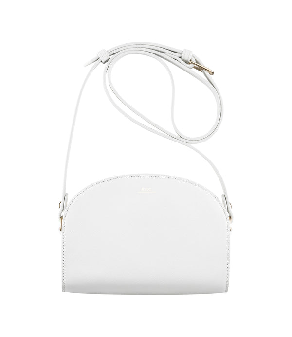 Demi-lune mini bag - AAB - White